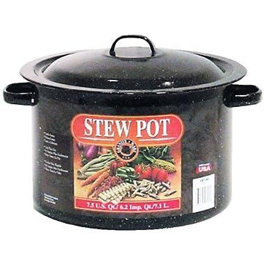 Granite Ware Stew Pot, 7.5-Quart
