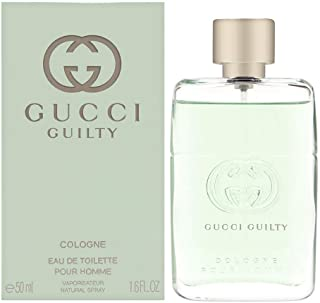 Gucci Guilty Cologne by Gucci, 1.6 oz EDT Spray for Men