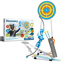 Discovery Kids Bullseye Outdoor Archery Set with LED Target Light-Up Toy