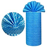 PandS Dish Cloths Reusable Kitchen Towels - 60 Sheets - Dishcloth for Drying Dishes House Cleaning - Kitchen Rags Countertop Handiwipe Sponge Cloths - Fast Dry Strong Absorbent (1Roll)