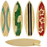 CakeDrake SURFBOARD Surf Board Beach LUAU Tropical 4 pieces Cake PARTY Decoration TOPPER