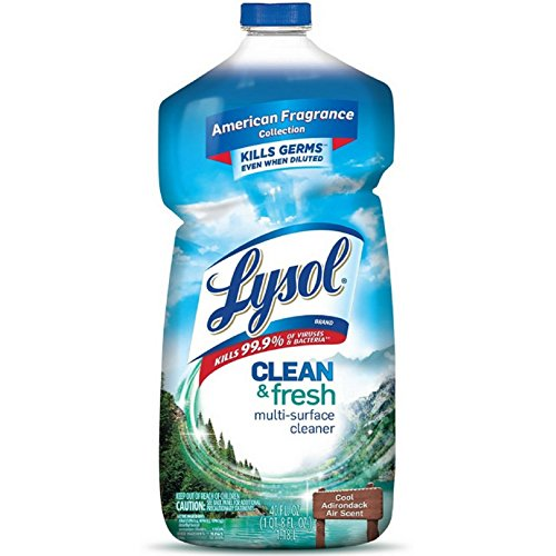 Lysol Clean & Fresh Multi-Surface Cleaner, Cool Adirondack 40 oz