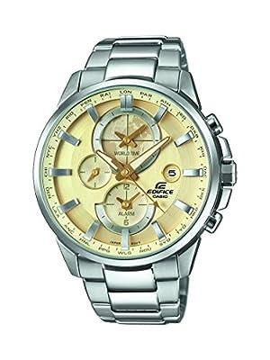 Casio Edifice – Reloj Hombre Analógico con Correa de Acero Inoxidable – ETD-310D