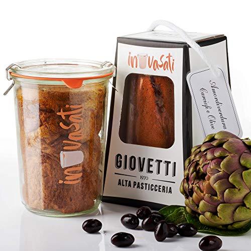 Panettone Salato Carciofi e Olive Artigianale in Vasocottura | 280gr | IN-VASATI® | Novità...