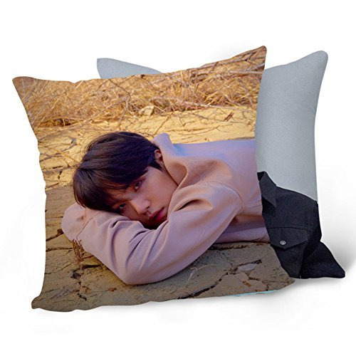 Bosunshine BTS Bangtan Boys Love Yourself 承 'Her' lacrima da tiro cuscino morbido velluto Core federa Pillow Cover-06
