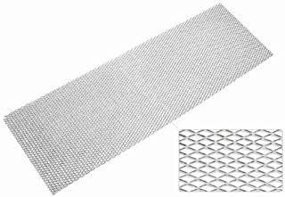 TA Technix–EVORG4Race Mesh Material: Aluminium (AL3030) Hole 12x 25mm, size: 135x 30cm Weight: 200g/ANODISED SILVER