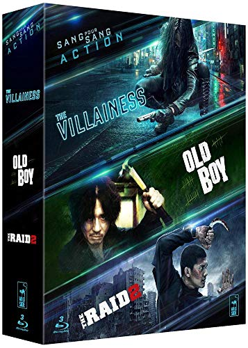 Coffret Action Asiatique - Collection de 3 films - The Villainess + Raid 2 + Old Boy [Francia] [Blu-ray]