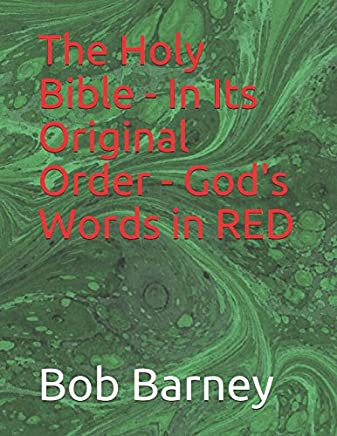 The Holy Bible - In Its Original Order - God's Words in RED: Part 1 The Law (The Plain Truth's red Letter Bible)