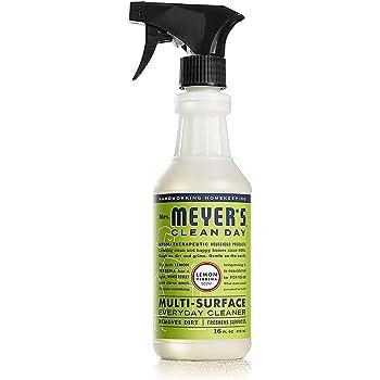 Mrs. Meyer's Clean Day Limpiador Multiusos, Para Baldosas, Encimeras y Más, Verbena de Limón, 473 ml