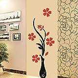 Decals Design 'Flowers with Vase' Wall Sticker