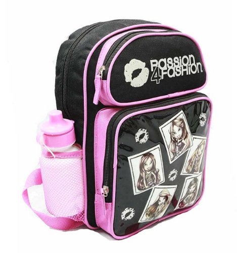 Bratz Small Backpack w/ Water Bottle - 5 Girls New School Bag mbbr0010
