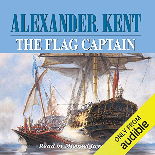 The Flag Captain audiobook cover art