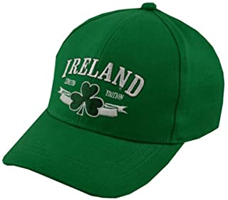 Carrolls Irish Gifts Baseball Cap For Kids With Ireland Limited Edition, Green Colour