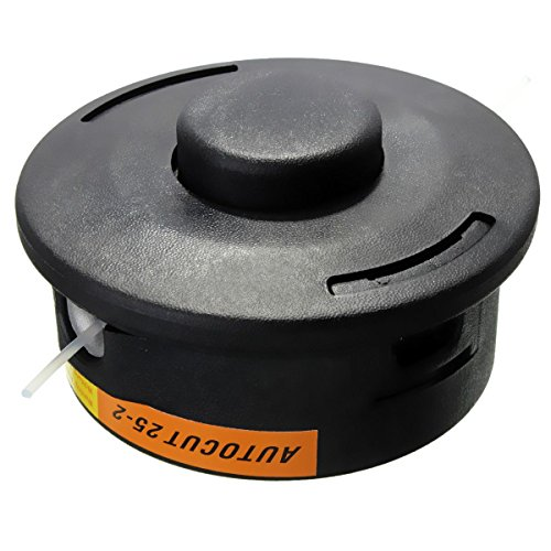 Cikuso Cabezas de avance de Bump de hilo de nilon de 25-2 de corte automatico para desbrozadora STIHL recortador Negro FS120 250