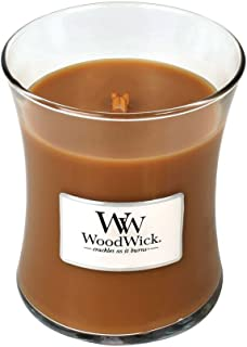 Hot Toddy WoodWick Glass Jar Scented Candle, Medium 10 oz.