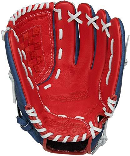 Rawlings Prodigy USA Edition 11.5`` Basket Web Pro Taper Glove Red/White/Blue LHT