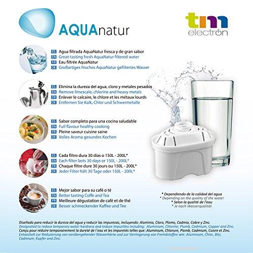 TM Electron Tmfil001 30 a 60 días Compatible con Las jarras brita maxtra 1