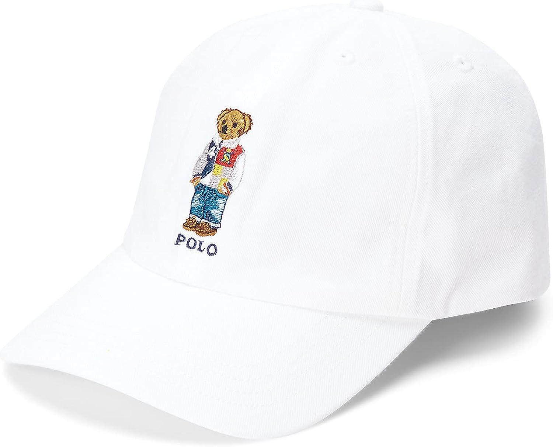 Polo Ralph Lauren Big Boys Polo Bear Twill Baseball Cap