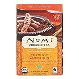 Turmeric Tea Amber Sun 12 Bags (Case of 6)