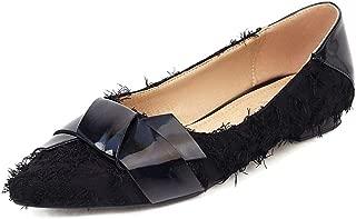 Zanpa Women Sweet Bow Ballets Shoes