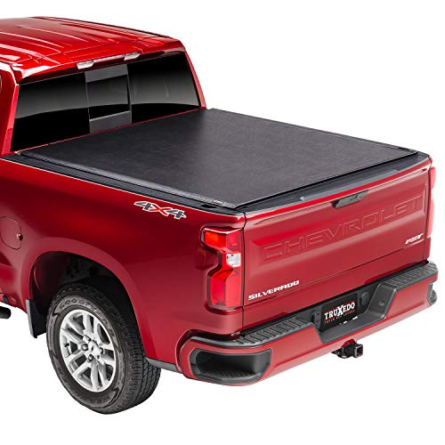 TruXedo Lo Pro Soft Roll Up Truck Bed Tonneau Cover | 581601 | Fits 1999 - 2006, 07 Classic Chevy/GMC Silverado/Sierra 1500 8' Bed (96