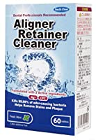 歯科専売 スマイルデント アライナー リテーナー洗浄剤 1箱(60錠入)