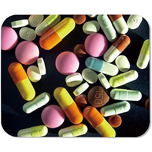 Medicina Farmacia Píldoras Ley Falsa 98419 Alfombrilla De Ratón Rect