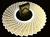 BICYCLE METALLUXE GOLD Limited Edition Cards By JOKARTE COLLECTORS Cartes à jouer Golden Luxe
