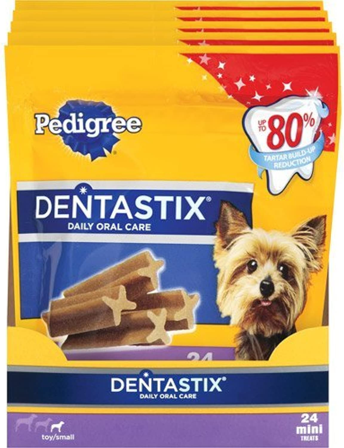 Dentastix Daily Oral Care for Toy Small Dogs (Pack of 5)
