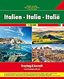 Italy, Great Road Atlas (English, Spanish, French, Italian and German Edition)