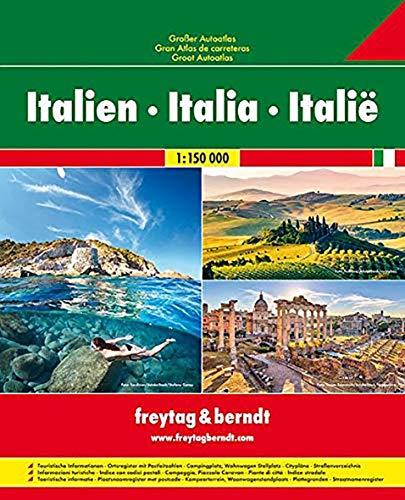 Italien, Großer Autoatlas 1:150.000 (freytag & berndt Autoatlanten)