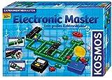 KOSMOS 615918 Electronic Master, Dein großes Elektronik-Labor, 146 Experimente, mit Messgerät, FM-Radio, Zeitschalter, Lichtschranke, Alarmanlage usw., Experimentierkasten, für Kinder ab 10 Jahre
