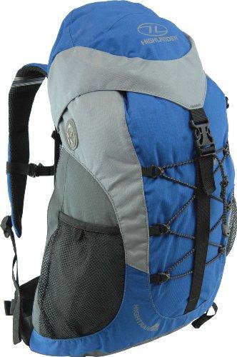 HIGHLANDER High Trail Sac à Dos Adulte Mixte, Bleu, 30 L