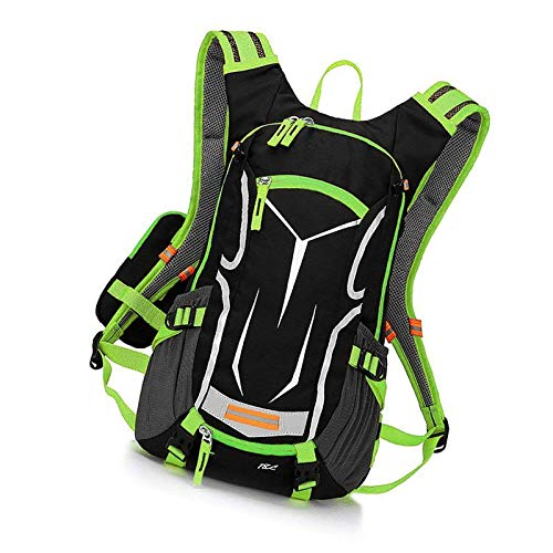 Cycling Backpack Biking Bike Rucksack For Outdoor Sports Running Green