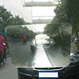 itimo Kfz-Rückfahrkamera, Aufkleber, Universal, transparent, Weitwinkel-Autoaufkleber Fresnellinse