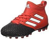 adidas Ace 17.3 AG J, Botas de fútbol Unisex niño, Rojo (Red/Footwear White/Core Black), 32 EU