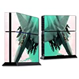 MightySkins Skin Compatible with Sony Playstation 4 PS4 Console wrap Sticker Skins Fighter Jet