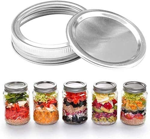 Regular Lids and Now free shipping Bands 48pc Canning 70mm Miami Mall Rings or