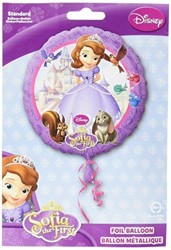 Ballon aluminium Princesse Sofia