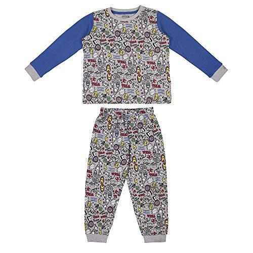 Pyjama Enfant The Avengers Gris - 8 ans