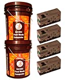 Aaditi stonesoup solutions private limited Te Indoor/Outdoor Aerobic Composting Twin Kit 2 Stackable