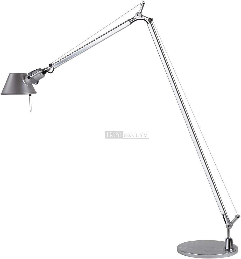 Artemide,lampada da tavolo,in alluminio A013900+A014900
