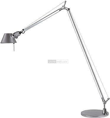 Artemide A013900 Tolomeo - Lámpara de pie, Aluminio, Altura máxima ...