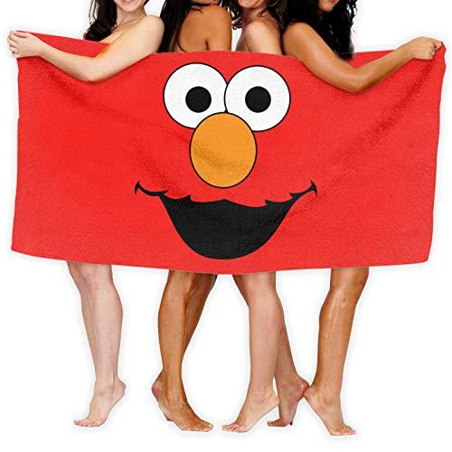 El-Mo Kids - Toalla de baño con capucha de algodón suave