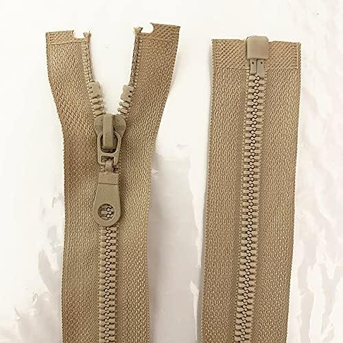 Sales for sale 20PCS 5 Number 25-70cm Detachable Zipper Limited time sale Opening Plas Resin Lock