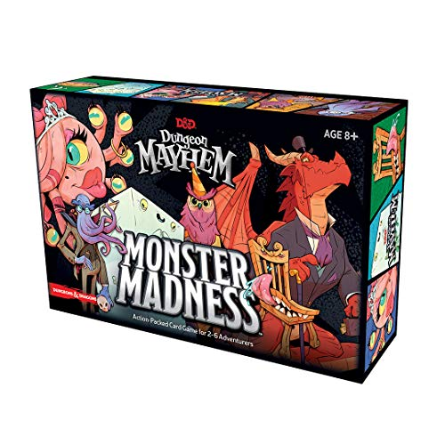 Dungeons & Dragons C7888000 Dungeon Mayhem Kartenspiel: Monster Madness