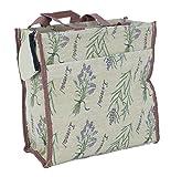 Bowatex Beach Tasche 27x30x12 cm Einkaufstasche Shopper Gobelin Royaltex Signare Motiv Lavendel FA