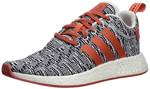 Adidas ORIGINALS Men's NMD_R2 Running Shoe, WhiteFuture Harvest, 9 M US
