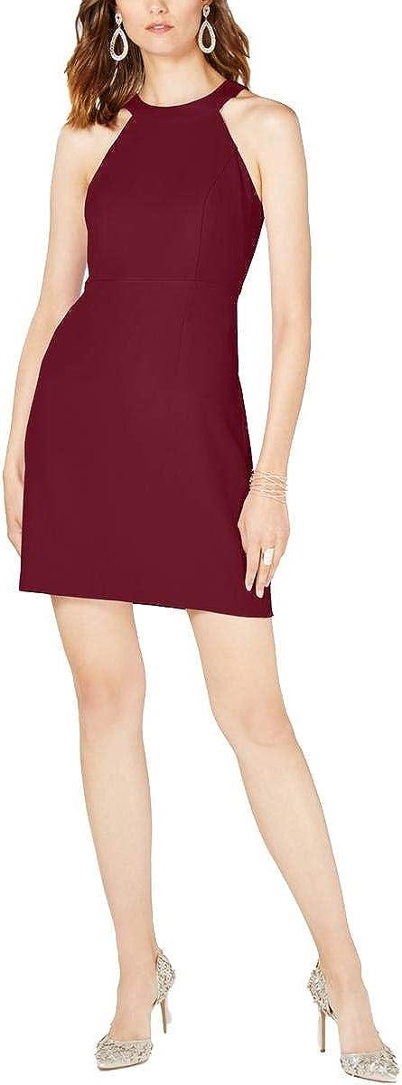 INC Womens Halter Sleeveless Shift Dress