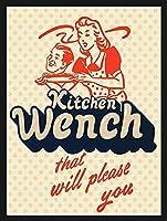 あなたを喜ばせるキッチンウェンチティンサイン壁の装飾金属ポスターレトロプラーク警告サインオフィスカフェクラブバーの工芸品